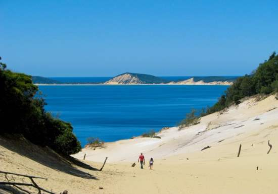 Visiting Great Sandy National Park in Queensland